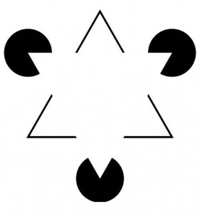 Kanizsa-triangle