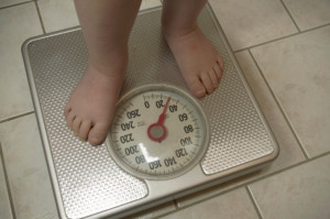 Child-on-scales